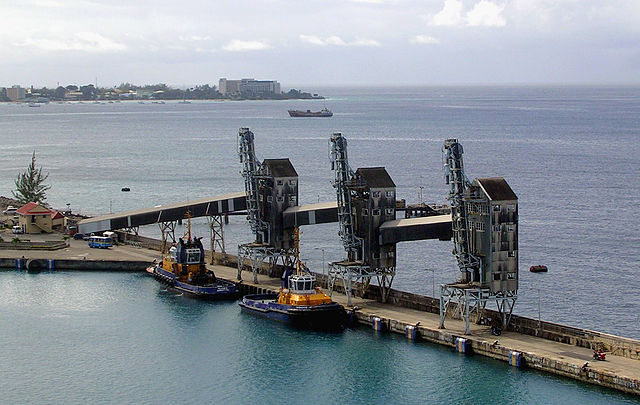 Bridgetown Barbados Freight Terminal Port. Discovering Barbados. Freight Forwarder Directory